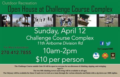 Challenge Course Complex Open House