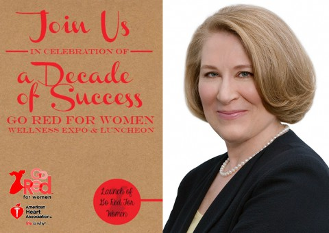 Dr. Holly Atkinson named keynote speaker for American Heart Association's Go Red For Women Wellness Expo and Luncheon