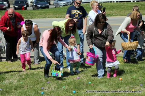 The 20th Annual Hilltop Supermarket Easter Egg Hunt was held Saturday.