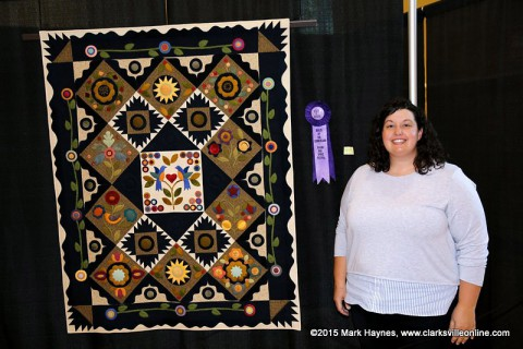 """Pennies from Heaven"" by Audra Langley won Best of Show at this year's Rivers and Spires Quilts of the Cumberland event."