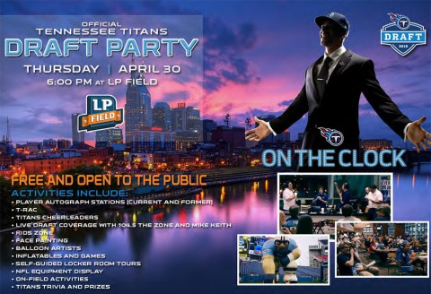 2015 Tennessee Titans Draft Party