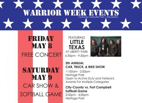 2015 Warrior Week