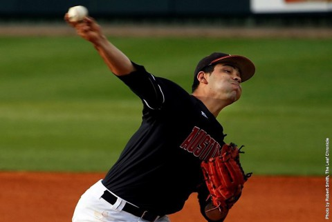 Austin Peay pitcher Alex Robles helps Govs to win over Belemont. (APSU Sports Information)