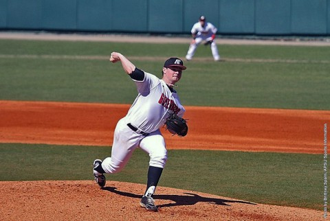 Austin Peay Baseball begins four game homestand with Lipscomb Bisons, Tuesday. (APSU Sports Information)