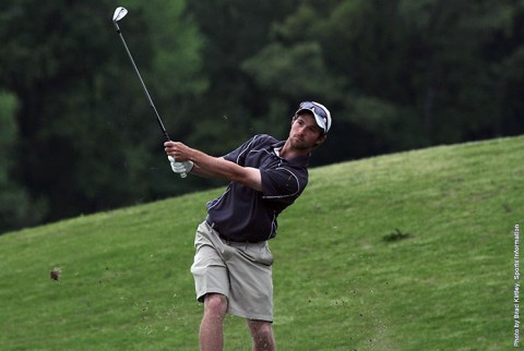 Austin Peay Men's Golf sits in third place at OVC Championship. (APSU Sports Information)