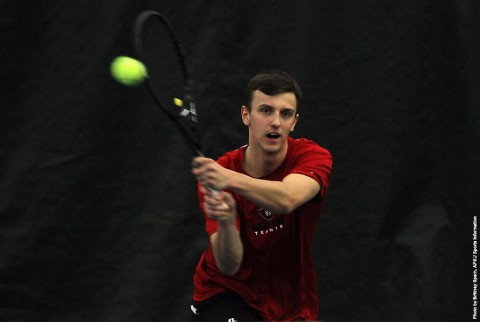 Austin Peay Men's Tennis moves on to OVC Championship semi-finals. (APSU Sports Information)