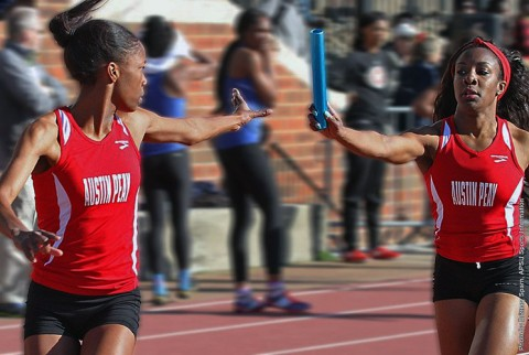 Austin Peay Lady Govs Track and Field. (APSU Sports Information)