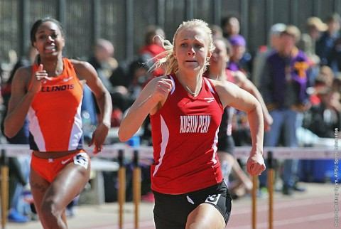 Austin Peay Women's Track and Field at Western Kentucky's Hilltopper Relays this weekend. (APSU Sports Information)