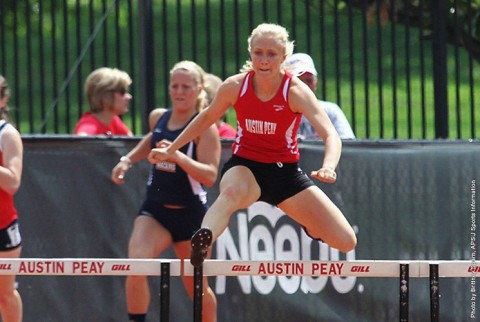 Austin Peay Women's Track and Field come out strong at APSU Invitational. (APSU Sports Information)