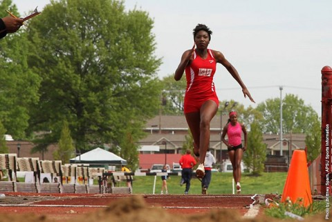 Austin Peay Women's Track and Field sophomore jumper Kaylnn Pitts. (APSU Sports Information)