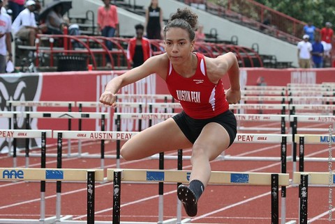 Austin Peay Women's Track and Field preps for OVC Championships at Memphis Tiger Inviational this weekend. (APSU Sports Information)