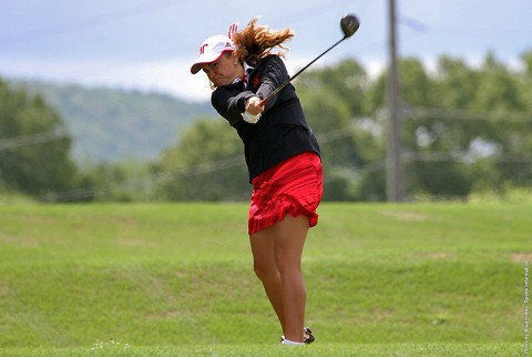 Austin Peay Women's Golf tied for 6th with Morehead State at 2015 OVC Women's Golf Championship. (APSU Sports Information)