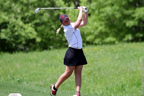 Austin Peay Womens Golf sophomore Morgan Gardner was dynamite on the greens Tuesday afternoon at OVC Championships. (APSU Sports Information)