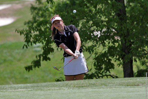 Austin Peay's Jessica Cathey fired a final-round 76 to finish at 232 for the tourney. (APSU Sports Information)