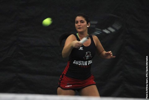 Austin Peay's Ornella Di Salvo named to OVC all conference second team. (APSU Sports Information)