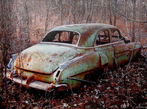 Artist Lynn Garwood.