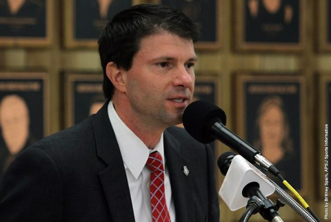 Austin Peay women's basketball new head coach David Midlick. (APSU Sports Information)
