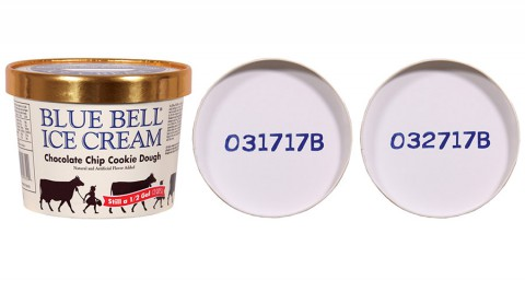 Blue Bell enhanced sampling program revealed that Chocolate Chip Cookie Dough Ice Cream half gallons produced on March 17th, 2015, and March 27th, 2015, contained the bacteria.