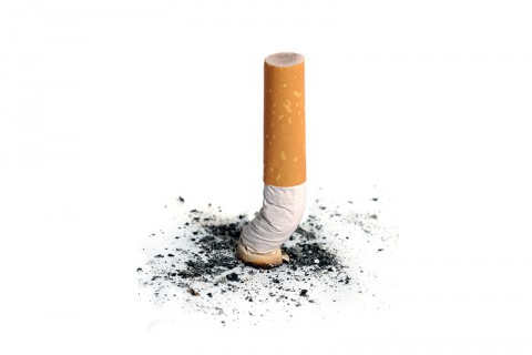 Even light smoking increases the risk, but the greatest risk is among heavy smokers.