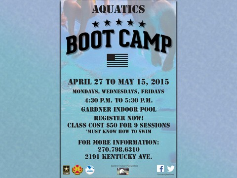 Fort Campbell's Gardner Pool to hold Aquatic Boot Camp