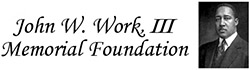John Wesley Work III Memorial Foundation