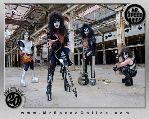 Mr Speed - KISS Tribute Band plays Clarksville's Rivers and Spires Festival Thursday night, April 16th, 2015.