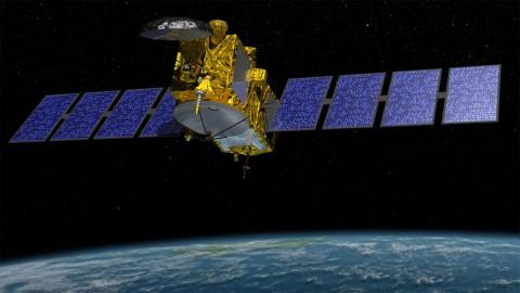 Artist's rendering of Jason-3. (NASA/JPL-Caltech)