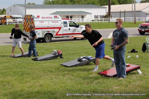 Palmyra Volunteer Fire Department's 2nd Annual Cornhole Tournament to be held Saturday, May 2nd.