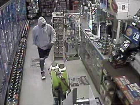 Anyone who can identify the suspect in this photo is asked to call Detective Hurst at 931.648.0656 Ext. 5263 or the CrimeStoppers TIPS Hotline at 931.645.TIPS (8477).