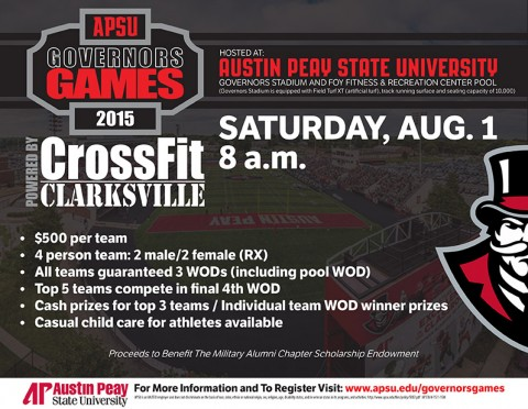 2015 APSU Governors Games
