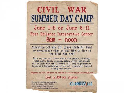 2015 Civil War Summer Day Camp