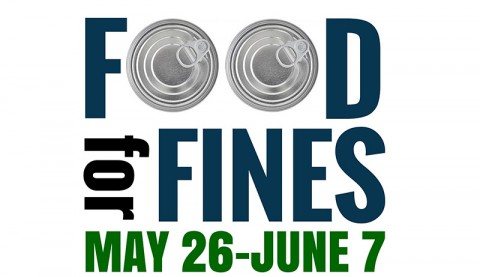 Clarksville Montgomery County Library Food for Fines May 26th through June 7th