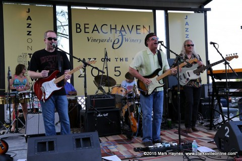 The Bicho Brothers Band kicked off the 2015 Jazz on the Lawn concert series Saturday night, May 9th.