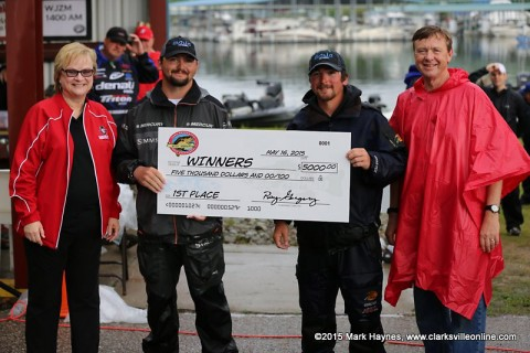 Jeffery Archie and Zach Parker won 21st Annual Austin Peay Governors Bass Tournament