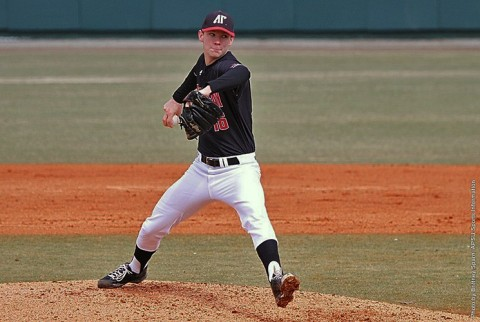 Austin Peay pitcher Jared Carkuff. (APSU Sports Information)