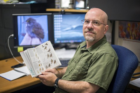 Austin Peay biology professor Dr. Stefan Woltmann was cited in National Geographic Magazine, along with APSU, for his work in Deep Water Horizon cleanup in the Gulf of Mexico. (Beth Liggett, APSU)