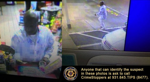 Clarksville Police are looking to identify the suspect in these photos.