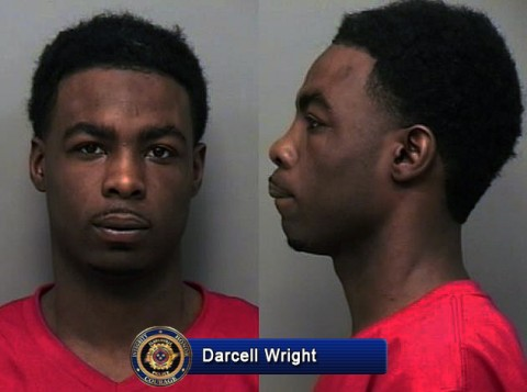 Darcell Dominique Wright captured and in custody in Hardeman County.