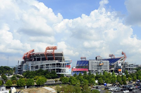 LP Field in Nashville, Tennessee. (Christopher Hanewinckel-USA TODAY Sports)