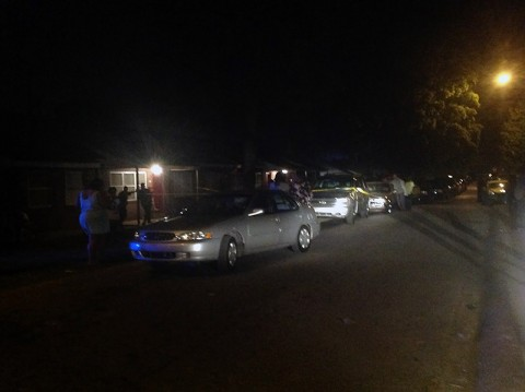 The scene of the shooting in Lincoln Homes. (CPD)
