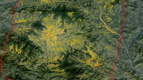 NASA data and expertise are providing valuable information for the ongoing response to the April 25, 2015, magnitude 7.8 Gorkha earthquake in Nepal. The quake has caused significant regional damage and a humanitarian crisis. (NASA/JPL/Ionosphere Natural Hazards Team)