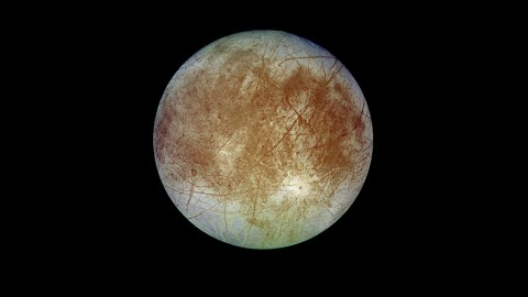 NASA announced the selection of nine instruments for a future Europa mission on May 27, including two led by JPL researchers. (NASA/JPL-Caltech/DLR)