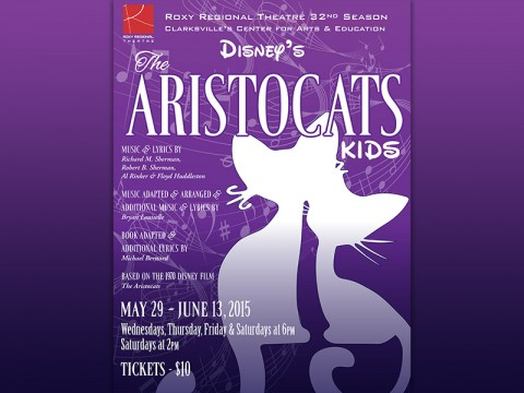 "Disney's ""The Aristocats Kids"" at the Roxy Regional Theatre, May 29th - June 13th."