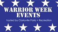 Clarksville parks and Recreation's Warrior Week Events