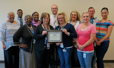 Clarksville Montgomery County Career Center Business of the Month Award