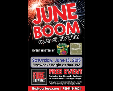 2015 June Boom over Clarksville