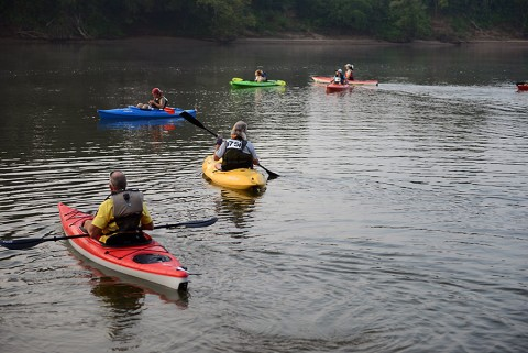 Rally on the Cumberland Canoe and Kayak Race