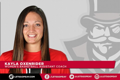 Austin Peay State University Women's Baskeball assistant coach Kayla Oxenrider. (APSU Sports Information)