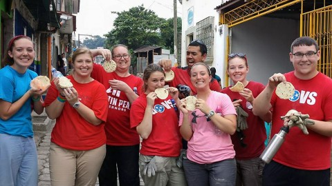 Austin Peay Students volunteering in Antigua, Guatemala. (APSU)