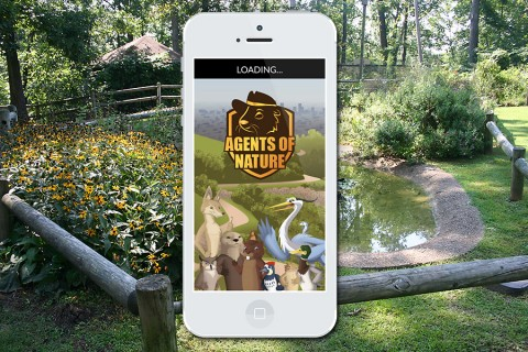 Agents of Nature is a mobile game kids can play at LBL's Nature Station.